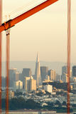 San francisoc und Golden Gate Lizenzfreie Stockbilder
