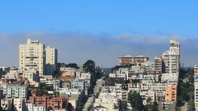 San Fransisco śródmieścia ulica zbiory wideo