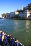San Fransisco Alcatraz nabrzeże, Budujący 64 i Guar Zdjęcie Stock