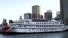 San Fransisco belle Pływa statkiem łódź - SAN FRANSISCO zdjęcie wideo