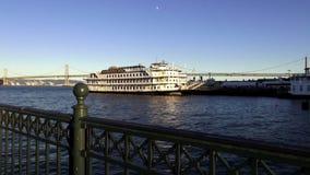 San Fransisco belle SAN FRANSISCO - pływający statkiem statek - zdjęcie wideo