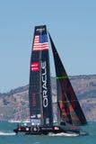 SAN FRANSISCO CA, SIERPIEŃ, - 26: Amerykanin drużyna w zatoce San F Obraz Stock