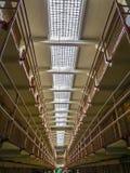 San Fransisco, CA usa - Alcatraz populaci ogólnej Więźniarskie komórki Obrazy Stock
