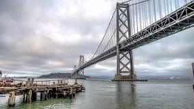 SAN FRANSISCO CA, Wrzesień, - 02, 2014: Zatoka most, San Fransisco Obraz Stock
