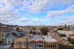San Fransisco dachy Zdjęcia Royalty Free