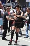 San Fransisco Dziwny Faire, uliczny festiwal obraz stock