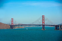 San Fransisco Golden Gate Bridge, Kalifornia Fotografia Stock