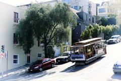San Fransisco historyczny Wagon Kolei Linowej zdjęcie stock