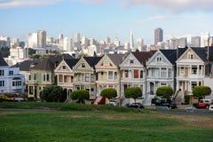 San Fransisco Houses Foto de Stock