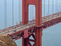 San Fransisco, Kalifornia, usa: Golden Gate Bridge, cieśnina i Krajowy Rekreacyjny teren, zdjęcie stock