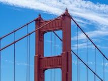 San Fransisco, Kalifornia, usa: Golden Gate Bridge, cieśnina i Krajowy Rekreacyjny teren, fotografia stock