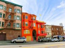 San Fransisco, Kalifornia, usa - Maj 04, 2016: Porcelanowy miasteczko Zdjęcia Stock