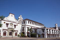 San Fransisco klasztor w Cartagena De Indias Obraz Royalty Free