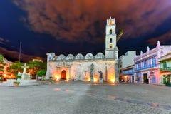 San Fransisco kwadrat - Hawański, Kuba zdjęcia stock