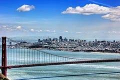 San Fransisco linia horyzontu Obrazy Royalty Free