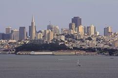 San Fransisco linia horyzontu Fotografia Stock