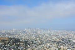 San Fransisco linia horyzontu, CA usa Zdjęcie Stock