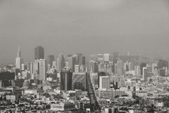 San Fransisco linia horyzontu, CA usa Zdjęcia Royalty Free