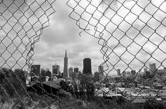 San Fransisco linia horyzontu - Kalifornia usa Zdjęcia Royalty Free