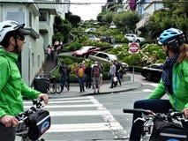 San Fransisco, lombard ulica fotografia royalty free