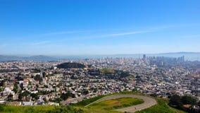 San Fransisco miasta głąbika widok Obraz Stock