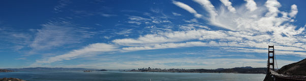 San Fransisco miasta panorama Zdjęcia Royalty Free