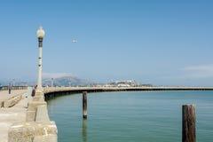 San Fransisco miejski molo Obrazy Royalty Free