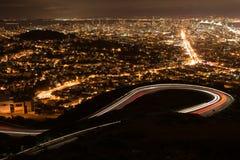 San Fransisco od bliźniaczych wież Obraz Stock