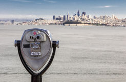 San Fransisco panorama i Obuoczny Obrazy Stock