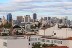 San Fransisco pejzaż miejski Zdjęcia Stock
