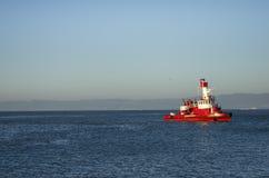 San Fransisco Pożarniczy dział, SFFD łódź Zdjęcie Stock