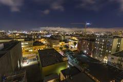 San Fransisco południe Targowa noc Fotografia Royalty Free