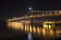SAN FRANSISCO - Podpalany most Zdjęcie Stock