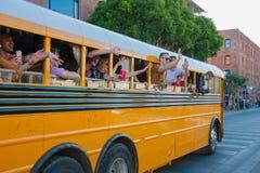 San Fransisco przyjęcia autobus Zdjęcia Stock