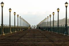 San Fransisco ` s molo 7 w wczesnym poranku Zdjęcie Royalty Free