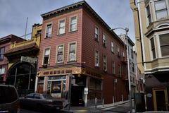 San Fransisco ` s stary oryginalny bar fotografia royalty free