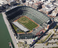 SAN FRANSISCO, San Francisco gigantów stadium Fotografia Royalty Free