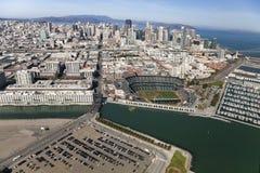 SAN FRANSISCO, San Francisco gigantów stadium Zdjęcia Stock