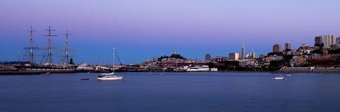 San Fransisco schronienie Panoramiczny obrazy royalty free