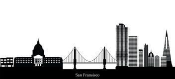 San fransisco skyline. San fransisco american city skyline Stock Photography