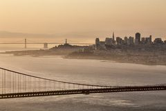 San Fransisco Skyline Stock Photo