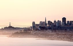 San Fransisco Skyline Royalty Free Stock Photo