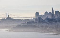 San Fransisco Skyline Stock Image