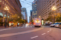 San Fransisco streets and architecture Royalty Free Stock Photo