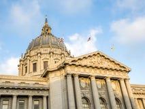San Fransisco urzędu miasta centrum administracyjno-kulturalne - San Fransisco, Kalifornia, CA obrazy stock