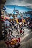SAN FRANSISCO, usa - LISTOPAD 21, 2015: Molo 39 San Fransisco Molo 39 jest popularnym turystycznym wizytą i centrum handlowym Zdjęcie Royalty Free