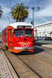 San Fransisco, usa wagonu kolei linowej tramwaj Zdjęcie Stock
