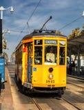 San Fransisco, usa wagonu kolei linowej tramwaj Obrazy Royalty Free