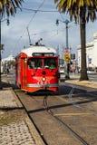 San Fransisco, usa wagonu kolei linowej tramwaj Zdjęcie Royalty Free