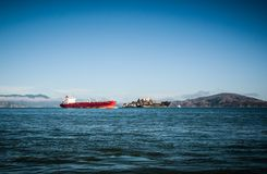 SAN FRANSISCO, usa - WRZESIEŃ 03: San Fransisco mola 39 statek Zdjęcie Royalty Free